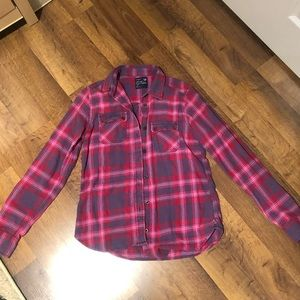 American Eagle Flannel Shirt Size S